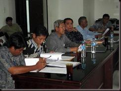 Staf otorita Asahan yang mewakili PT Inalum dan wakil PT PLN